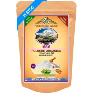 MSM Pulbere Organica 125gr