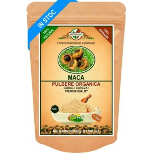 Pulbere Organica Maca Root 125 gr