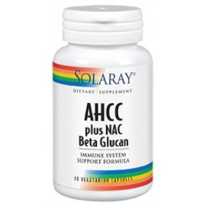 AHCC plus NAC Beta Glucan