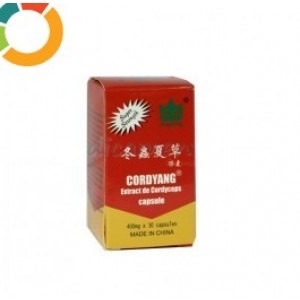 CORDYANG -- Extract Cordyceps sinensis Capsule 400mg x 30 buc
